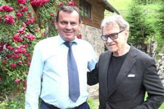 Harvey Keitel a vizitat locul natal al mamei sale, din Maramures. Actorul a fost cucerit de frumusetea locurilor