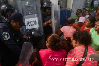 Batalie sangeroasa intre bandele de detinuti, intr-o inchisoare din Mexic. Sunt cel putin 28 de morti