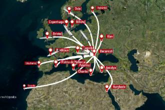 Zeci de optiuni noi de vacanta, cu zboruri directe, oferite in 2017 de companiile aeriene. Ce destinatii noi au aparut