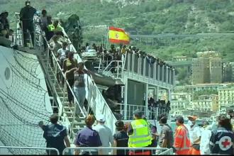85.000 de migranti au ajuns in Italia in 2017. Localnicii sunt coplesiti, iar refugiatii, nemultumiti: