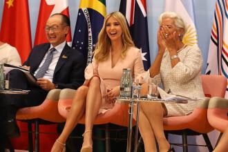 Americanii, suparati ca Ivanka i-a tinut locul lui Trump la G20: