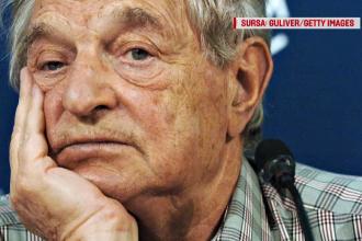 Campanie impotriva lui George Soros pe strazile Ungariei.
