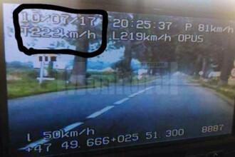 Record uluitor de viteza pe un drum din nordul Moldovei. Politia nu a reusit sa il urmareasca pe sofer