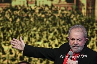 Fostul presedinte brazilian Lula, condamnat la noua ani si sase luni de inchisoare