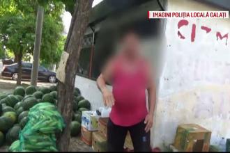 Scandal in Galati, dupa ce politistii au amendat vanzatorii de pepeni: