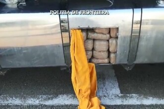 Un cetatean bulgar a fost prins la Vama Calafat cu 160 de kilograme de marijuana. Unde erau ascunse stupefiantele