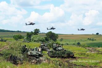 Klaus Iohannis, la cel mai mare exercitiu NATO din acest an, desfasurat in Romania.