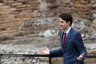 Moment emotionant pentru premierul canadian. Justin Trudeau s-a intalnit cu bebelusul sirian botezat cu numele sau