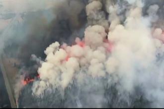 Stare de urgenta in Canada, din cauza a 160 de incendii. Zeci de mii de locuitori au fost evacuati