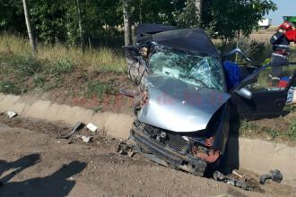 Accident grav cu 2 morti si 2 raniti langa Segarcea. Victimele facusera autostopul ca sa ajunga la serviciu