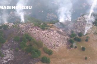 Parcul Domogled este sub amenintarea focului de mai bine de trei zile. Exista riscul aparitiei unor noi focare