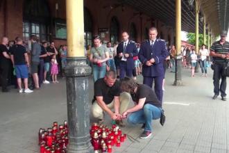 Politistul ucis in Suceava, decorat post mortem: