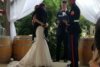 Un copil de patru ani din SUA a izbucnit in lacrimi la nunta tatalui sau. Ce i-a transmis viitoarea sa mama