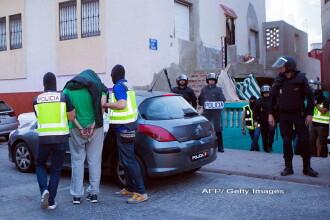 Politist atacat cu cutitul in enclava spaniola Melilla. Suspectul a strigat