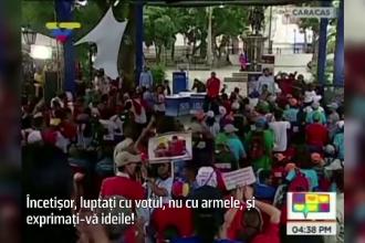 Presedintele Venezuelei a ales sa cheme cetatenii la referendum pe ritmurile piesei