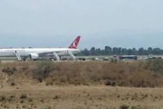 Aterizare de urgenta a unui avion Turkish Airlines. Pilotii au aflat ca la bord ar fi bomba