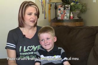 O familie din California strange bani ca sa cumpere un caine insotitor pentru baietelul lor cu nevoi speciale
