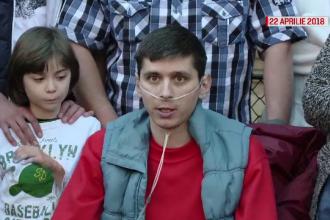 Ultimul mesaj postat de Călin Farcaș, tânărul care aștepta de 2 ani un transplant