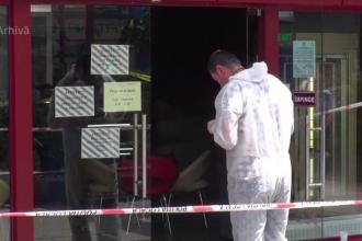 Răfuială cu focuri de armă în Ploiești. Rănitul a scăpat de agresori ascunzându-se într-un magazin