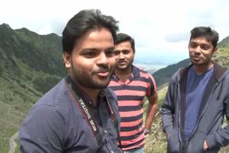 Reacția unor turiști din India după ce au vizitat pentru prima dată Transfăgărășanul
