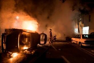 Violențe în Franța, după ce un tânăr de 22 de ani a fost împușcat în timpul unui control