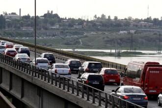 Taxa pentru podul de la Feteşti ar putea fi eliminată.