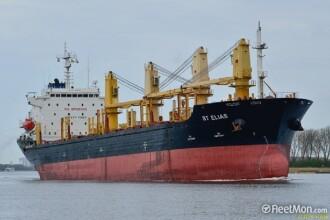 O navă cu 22 de marinari români la bord a fost reţinută în Franţa