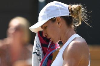 Simona Halep a fost eliminată în turul 3 la Wimbledon. Desfășurarea meciului
