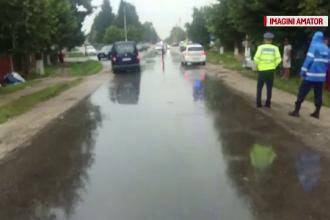O fetiţă de 6 ani a murit după ce a fost izbită în plin de o maşină