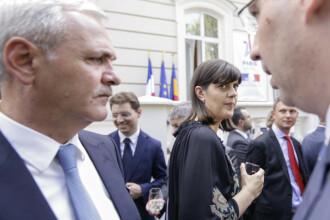 Dragnea, prima reactie despre revocarea din functie a Laurei Codruta Kovesi