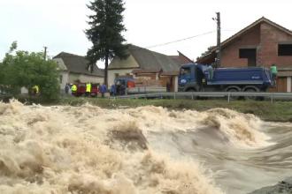România, lovită din nou de inundații: