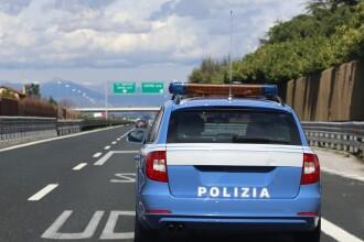 Român prins la volan fără permis, în Italia. Ce şpagă a vrut să le dea agenţilor