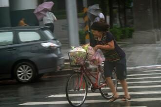 Autoritățile din Taiwan se pregătesc pentru taifunul Maria. 2.000 de persoane, evacuate