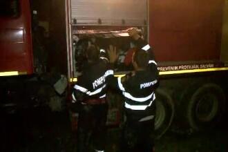 Incendiu într-un apartament din București: