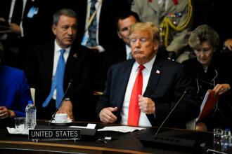 """Concluziile summit-ului NATO din Bruxelles. La final, Trump s-a lăudat că este """"un geniu stabil"""""""