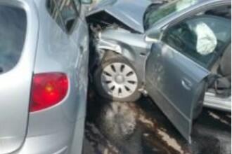 Accident cu şapte victime la Predeal. Circulaţia pe DN1 a fost reluată