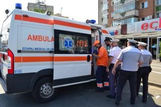 Poliţist din Arad, călcat cu mașina peste picioare. De ce era furios şoferul pe el