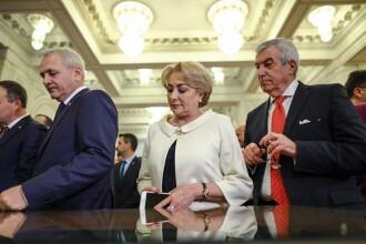 Întâlnire Dragnea-Dăncilă, la Guvern. La ieşire, au fost huiduiţi