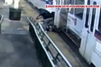 Bărbat târât de tramvai. Vatmanul l-a observat după ce a rămas în urmă, pe șine