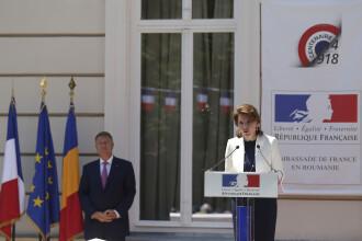 Mesajul ambasadoarei Michele Ramis pentru Justiția din România, la recepția de Ziua Franței