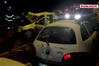 Accident în Braşov. A urcat beat la volan, apoi şi-a ucis soţia şi a rănit un pieton