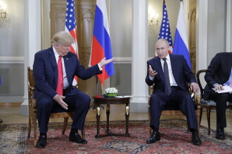 """Donald Trump îl invită pe Vladimir Putin la Washington. Vizita ar urma să aibă loc """"în toamnă"""""""