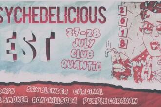 Prima ediție a festivalului Psychedelicious. Stoner-rock și psihedelic cu RoadKillSoda, Cardinal, Purple Caravan