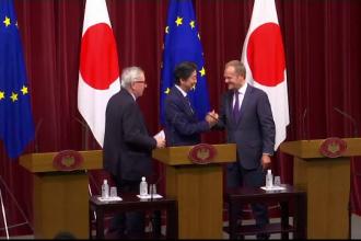 Japonia şi UE vor forma cea mai vastă zonă de liber schimb din lume. Ce înseamnă asta pentru economie