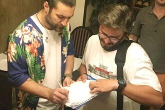 """Smiley a semnat pentru campania #fărăpenali. Tudor Chirilă: """"Eu am semnat"""""""