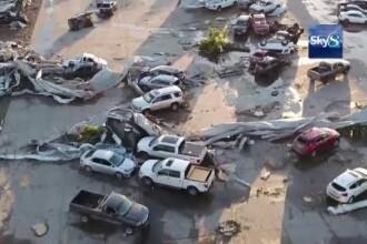 """Statul american Iowa a fost lovit de 27 de tornade: """"N-am mai văzut așa ceva"""""""