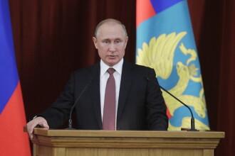 Putin vrea noi sancțiuni împotriva SUA ca răspuns la prăbușirea rublei