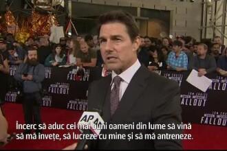 Mission Impossible 6 a avut premiera în SUA. Tom Cruise, dezvăluiri despre cascadoriile sale