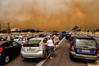 Cele mai grave incendii care au lovit Grecia în ultimii 10 ani, în IMAGINI. Stare de urgență în Attica