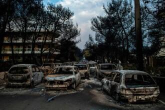 """Incendiile din Grecia. Mărturiile românilor: """"Au fost găsite mame cu copii în brațe, decedați"""""""
